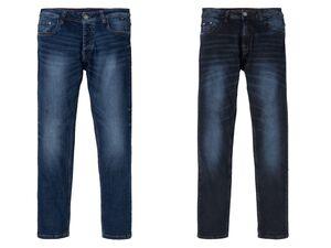 LIVERGY® Jeans Herren, schmaler Schnitt, mit Baumwolle und Elasthan