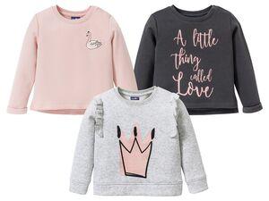 LUPILU® Sweatshirt Kleinkinder Mädchen, mit Motiv, mit Baumwolle