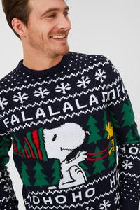 Weihnachtspullover - Peanuts