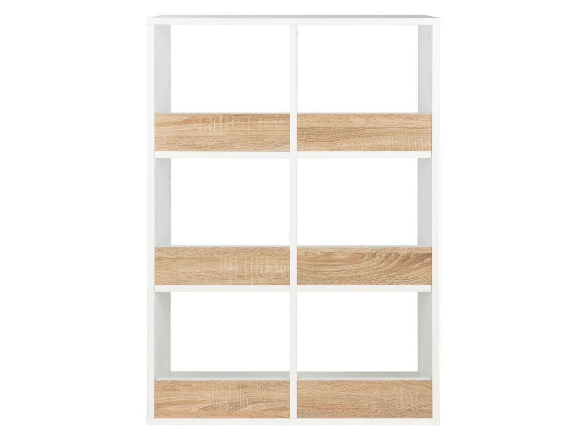Bild 3 von LIVARNO® Regal mit 6 Fächern weiß