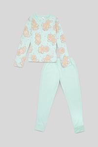 Weihnachts-Pyjama - Bio-Baumwolle - 2 teilig