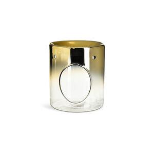 Duftöllampe, D:10cm x H:12cm, gold