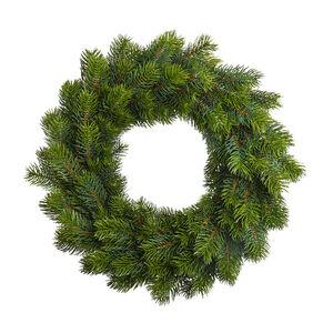 Adventskranz Tanne, D: ca.50cm, dunkelgrün