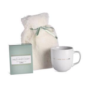 Geschenkset Tasse/Wärmflasche/Trinkschokolade, 3-teilig