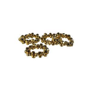 Serviettenringe Bells, 4 Stück, D:7cm x H:1cm, gold