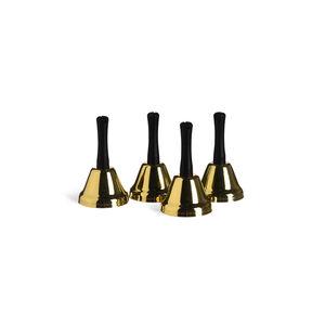 Platzkartenhalter Bells, 4 Stück, D:4cm x H:6cm, gold