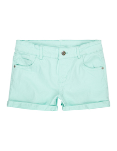Mädchen Shorts aus Coloured Denim