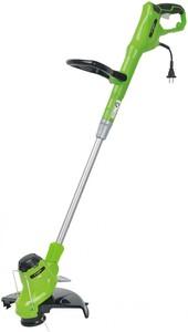 """Greenworks Elektro-Rasentrimmer 450 W """"drehbarer Schneidkopf, 30 cm Schnittkreis"""""""