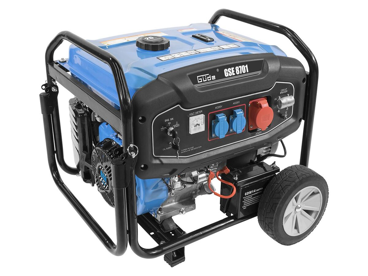 Bild 1 von Güde Stromerzeuger GSE 8701 RS