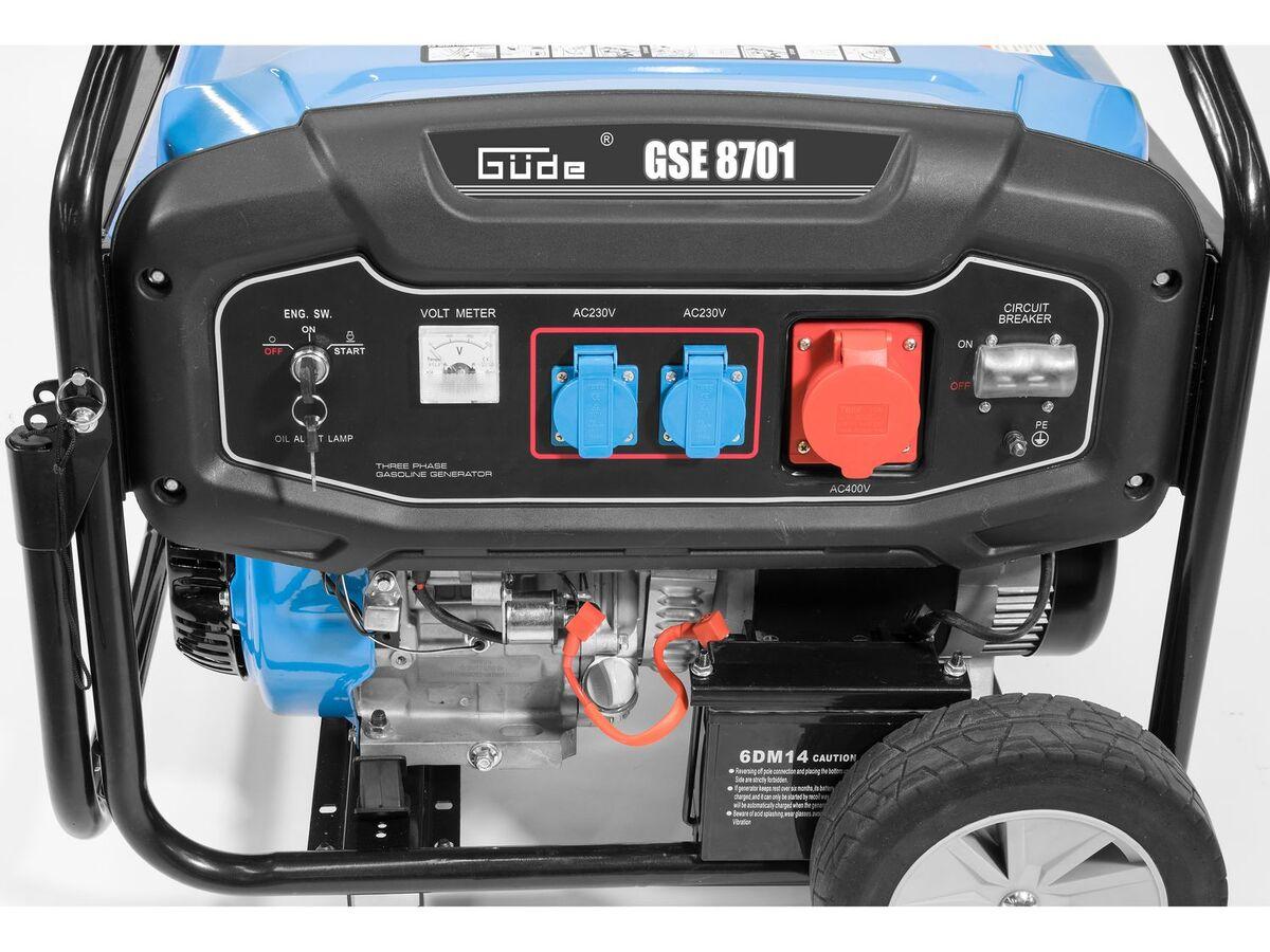 Bild 3 von Güde Stromerzeuger GSE 8701 RS