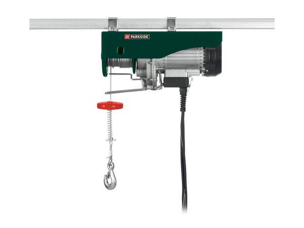 PARKSIDE® Elektrische Seilwinde,  600 kg, mit Thermo-Überlastungsschutz