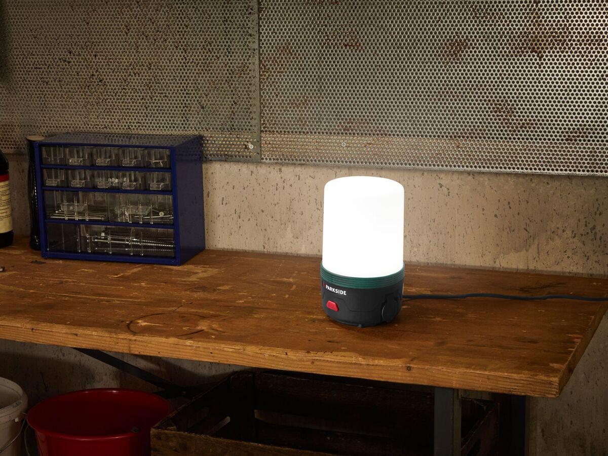 Bild 3 von PARKSIDE® LED Arbeitsleuchte, 360°, 400 Lumen, 40 W Leistung, mit Aufhängehaken, kaltweiß
