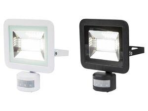 LIVARNO LIVING® LED Strahler, Bewegungsmelder, 28 energiesparende LEDs, 24 Watt Leistung