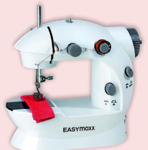EASYmaxx Mini-Nähmaschine