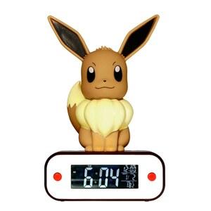 Pokémon - Evoli Lampe und Wecker