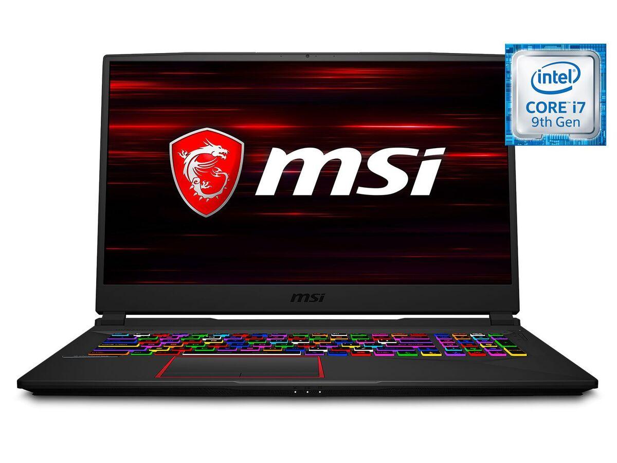 "Bild 1 von MSI GE75 9SE-421 Gaming Laptop - 17"" FHD / i7-9750H / 16GB RAM / 512GB SSD + 1TB HDD / RTX 2060 6GB / Win 10 Home"