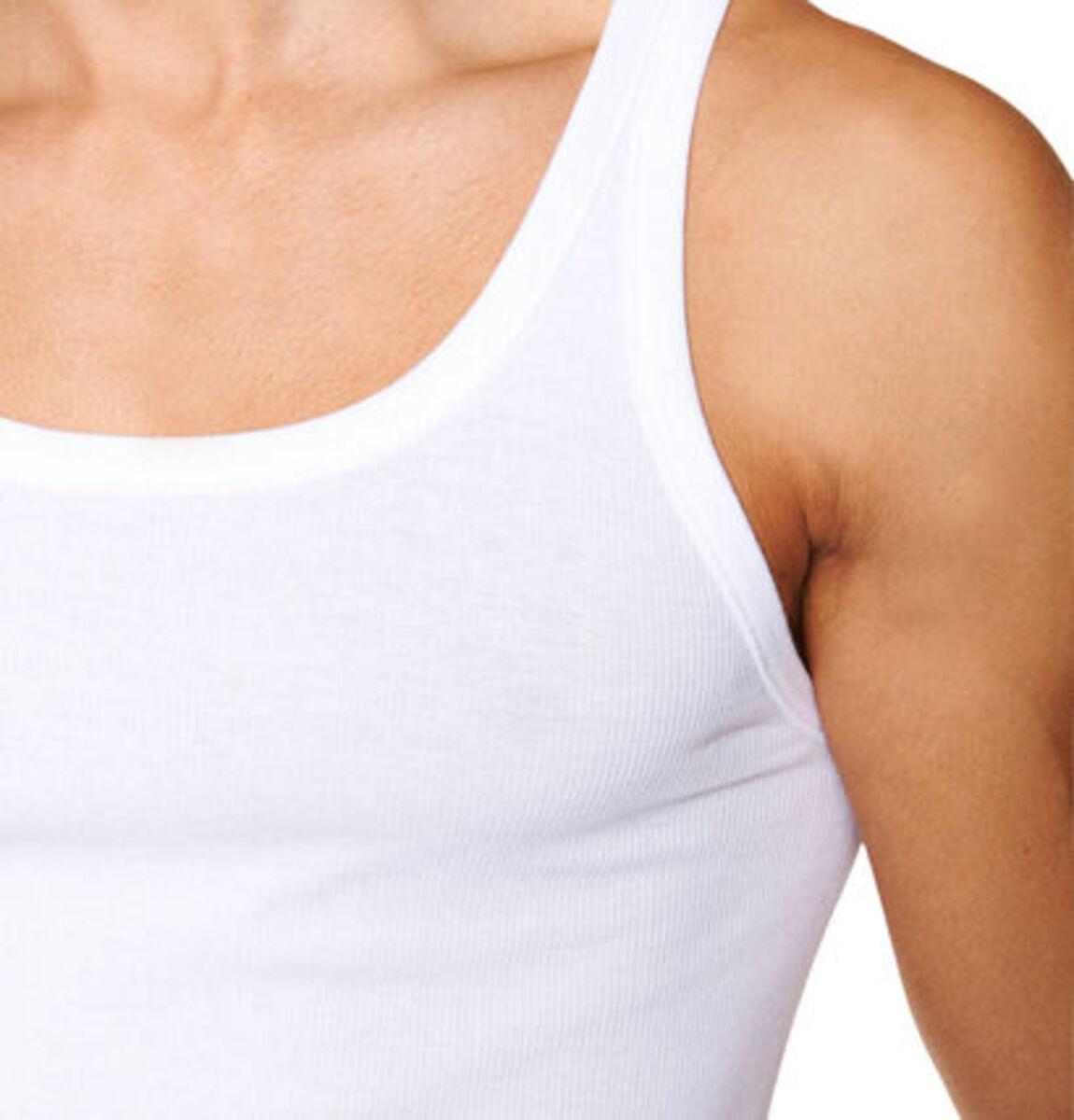 Bild 4 von Schiesser Unterhemd, uni, Doppelripp, Baumwolle, 2er-Pack