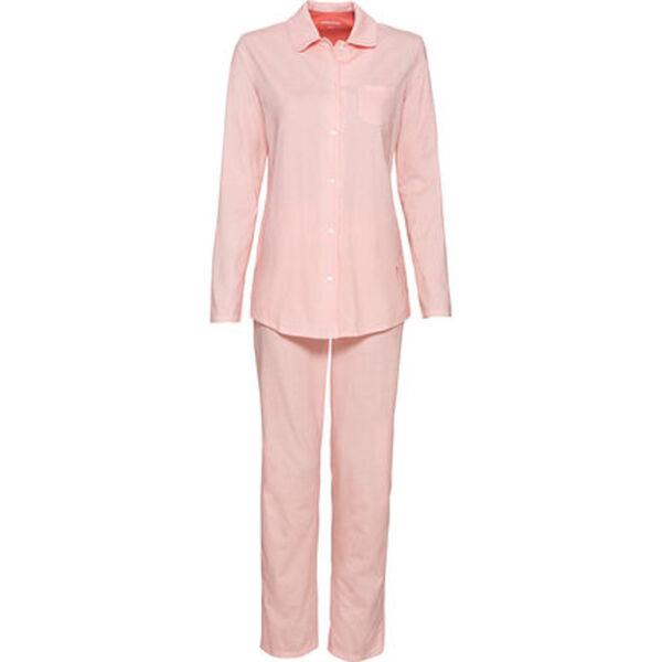 Seidensticker Pyjama, lang, mit Knopfleiste, für Damen