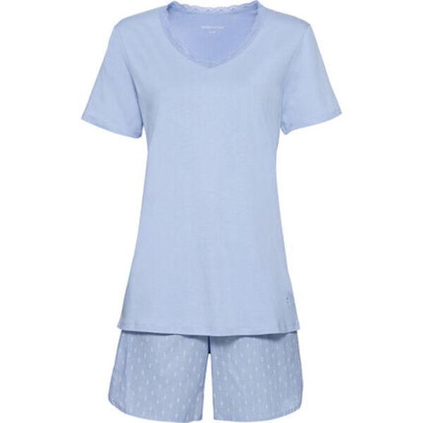 Seidensticker Pyjama, kurz, Single Jersey, für Damen
