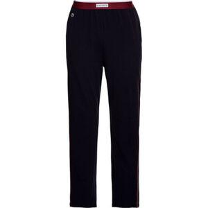 Lacoste Lounge Pants, breiter Logobund, seitliche Streifen, für Herren