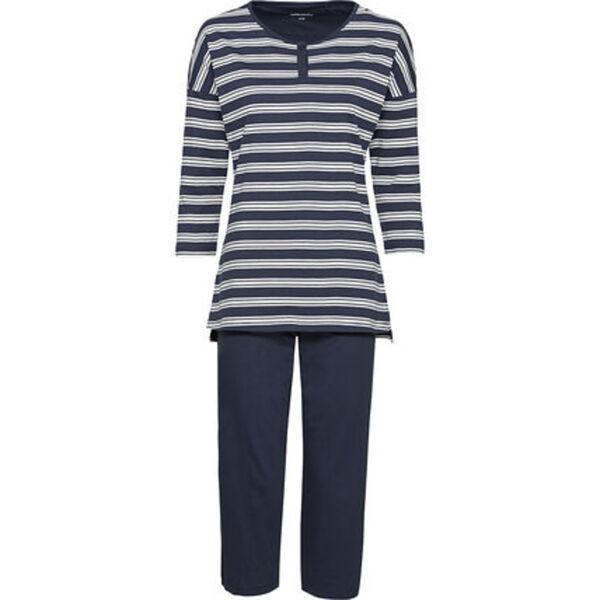 Seidensticker Pyjama, 3/4 Länge, Single Jersey, für Damen