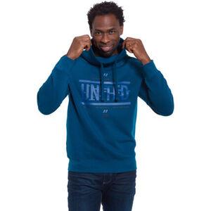 Manguun Sweatshirt, Schlauchkragen mit Tunnelzug, für Herren
