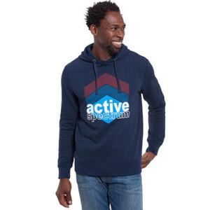 Manguun Kapuzen-Sweatshirt, sportiver Print, für Herren
