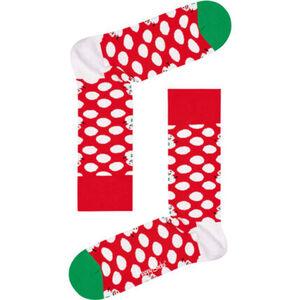 Happy Socks Socken, Weihnachtsdesign, Schneemann, unisex