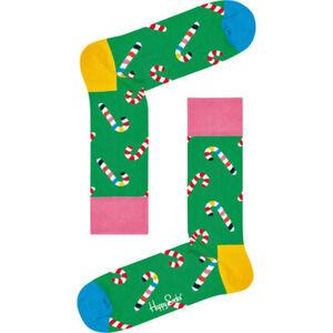 Happy Socks Socken, Weihnachtsdesign, Zuckerstange, unisex