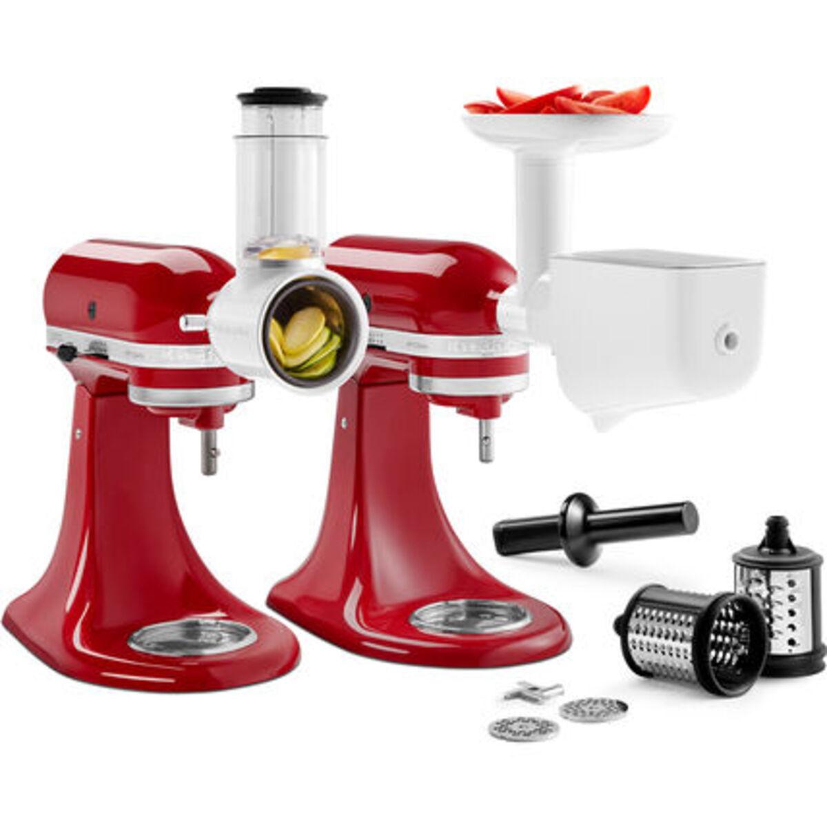 Bild 3 von KitchenAid Küchenmaschine Artisan 5KSM125EER Gourmetbundle, incl. Aufsatzset und Wurstfüllhorn, empire rot