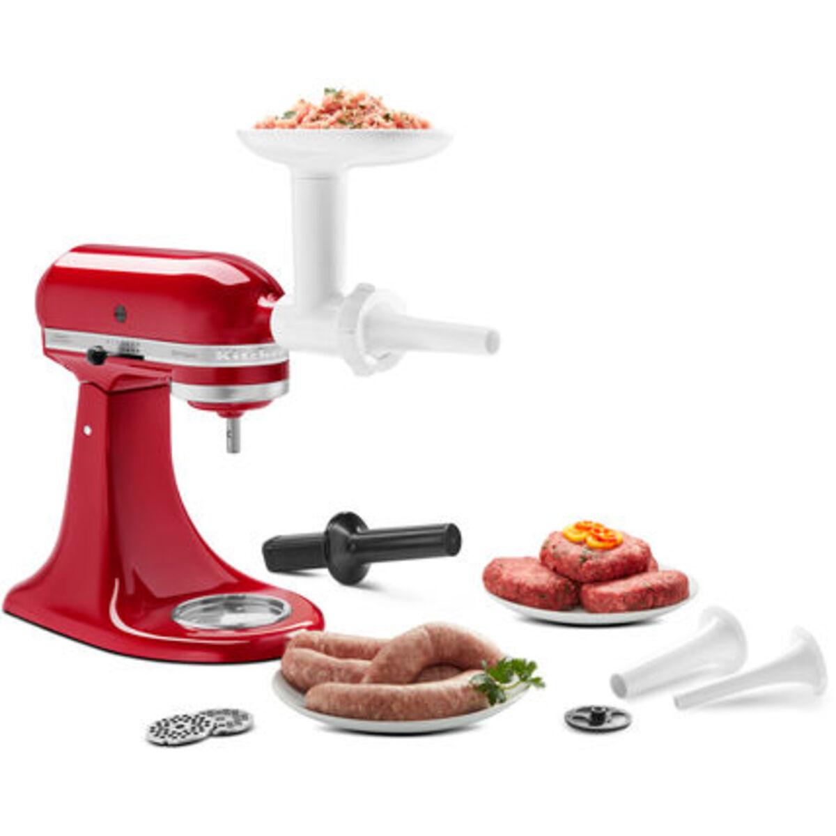 Bild 4 von KitchenAid Küchenmaschine Artisan 5KSM125EER Gourmetbundle, incl. Aufsatzset und Wurstfüllhorn, empire rot