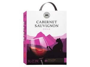 CIMAROSA Cabernet Sauvignon Chile BIB trocken, Rotwein 2018