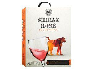 Shiraz Bag-in-Box trocken, Roséwein 2019