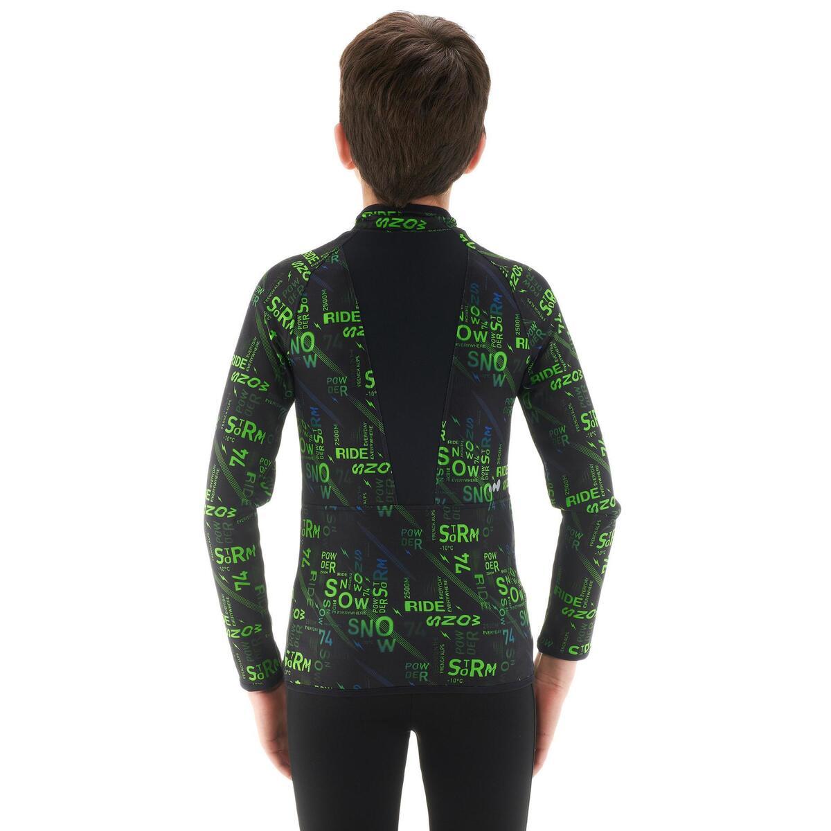 Bild 5 von Skiunterhemd Funktionsshirt Freshwarm Kinder Graphik