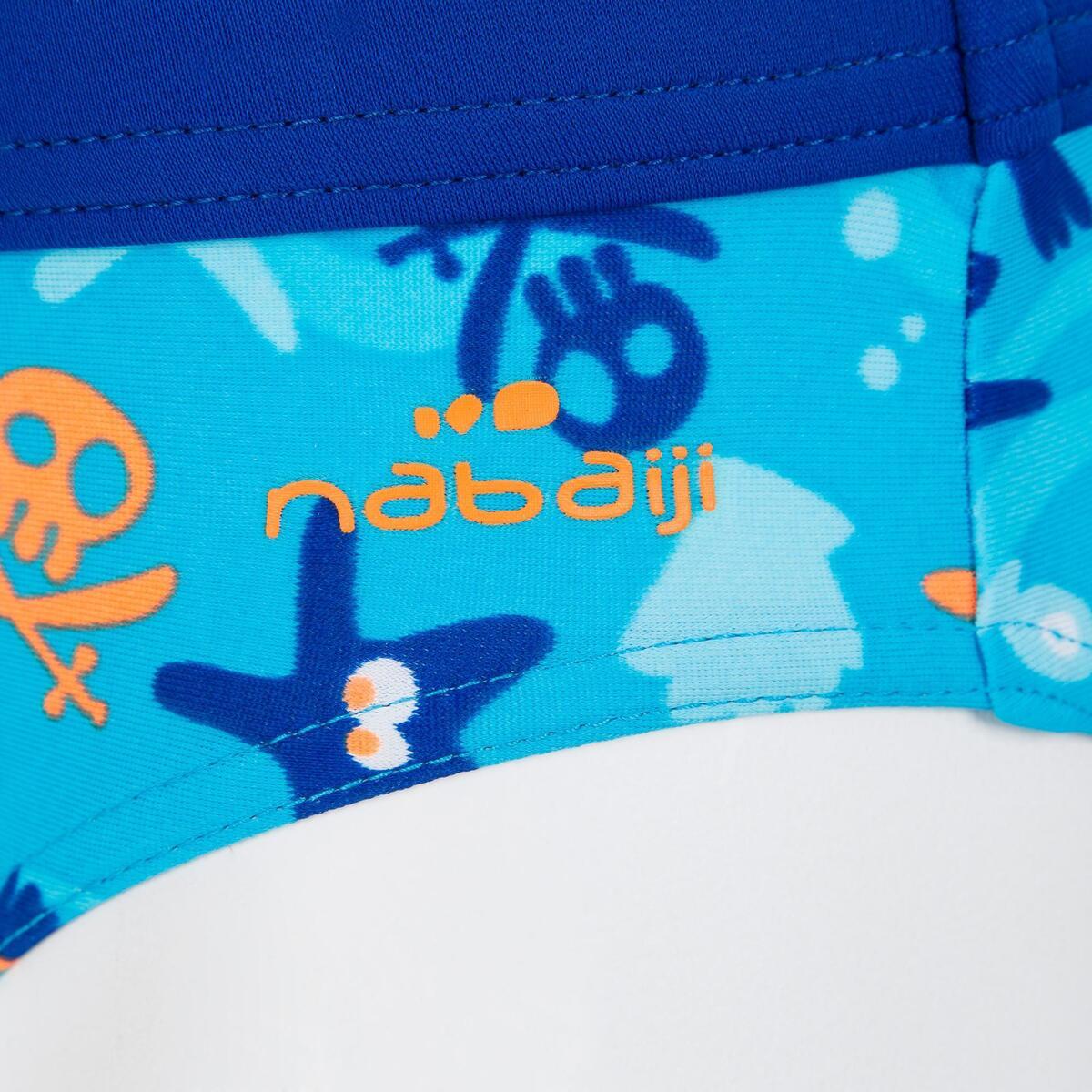Bild 4 von Badehose Slip Baby Print Hook blau