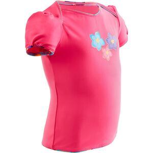 Tankini-Top Baby pink mit Blumen
