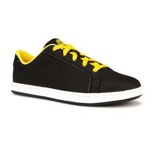 Skateschuh Crush 100 Kinder schwarz/gelb