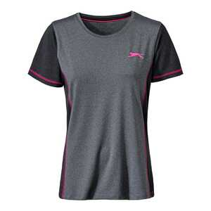 Damen-T-Shirt in angesagter Melange-Optik