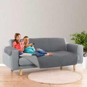 EASYmaxx Sofaüberwurf mit schützender Oberfläche, ca. 180x290cm