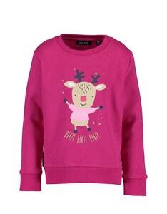 BLUE SEVEN - Mini Girls Sweatshirt mit Elch Druck