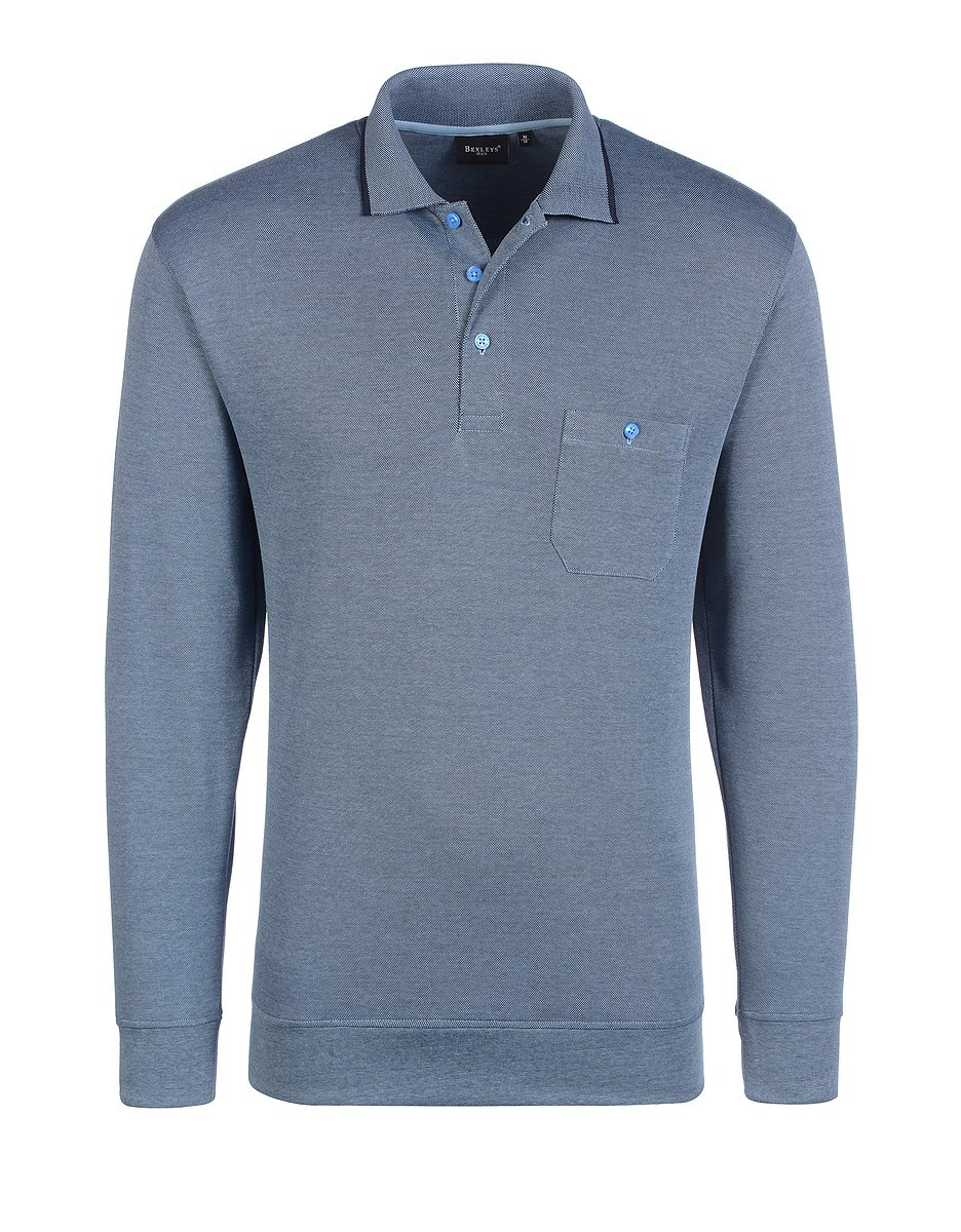 Bild 1 von Bexleys man - Polo-Shirt langarm