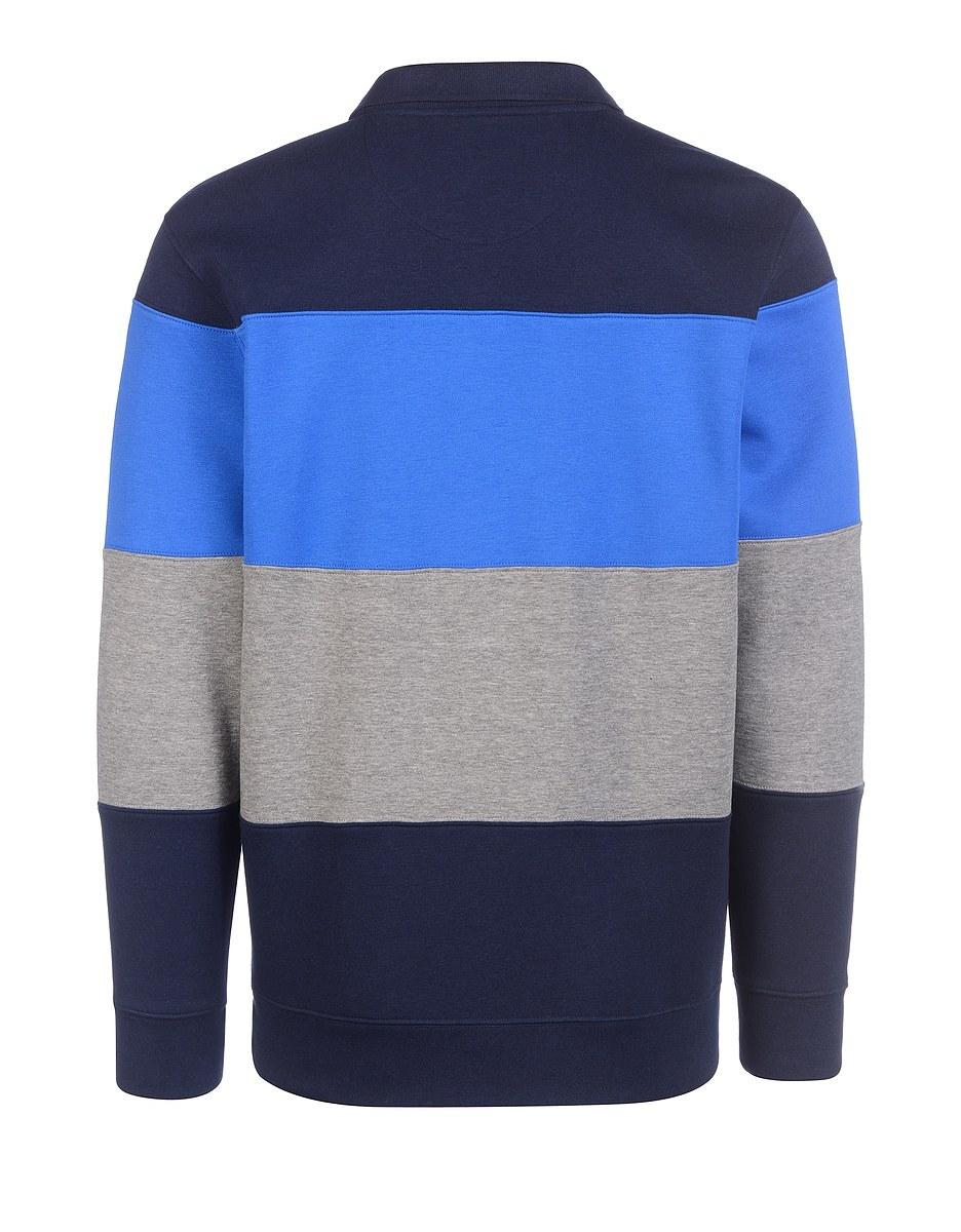 Bild 2 von Bexleys man - Polo-Sweatshirt mit Blockstreifen