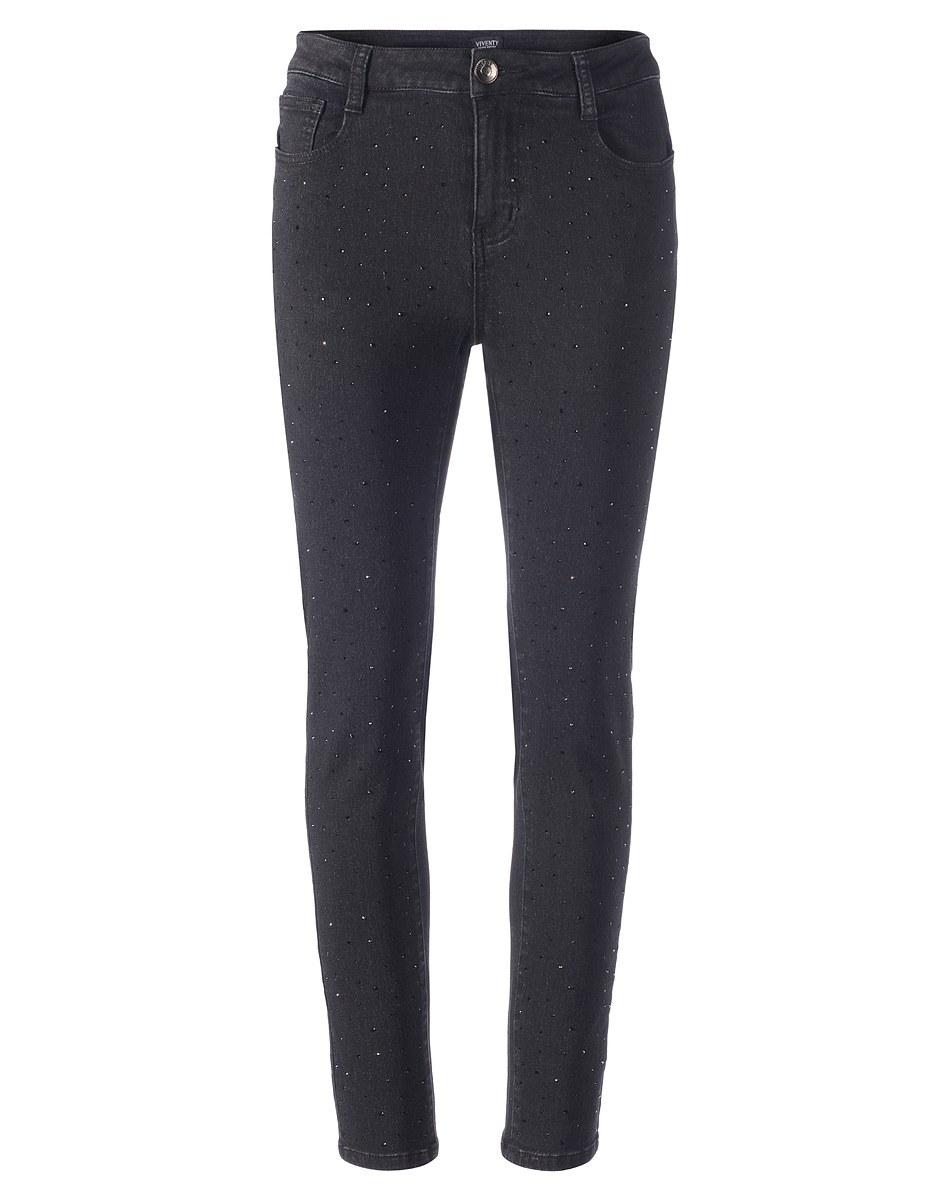 Bild 3 von Viventy - Jeans mit Ziersteinen, 5-Pocket