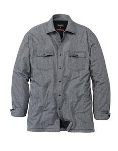 Bexleys man - Hemdjacke mit Microfleece-Futter, langarm, uni