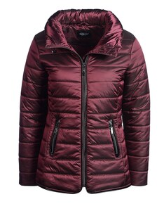 Bexleys woman - Steppjacke mit Lederimitatdetails