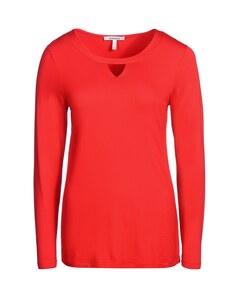 Steilmann - Rundhals-Shirt mit modischem Cut-Out