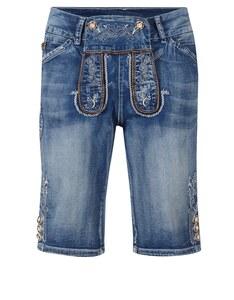 Alphorn - kurze Trachten-Jeanshose