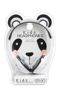 Weiße Panda-Kopfhörer