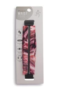 Pinkfarbener Fitness-Taillengürtel