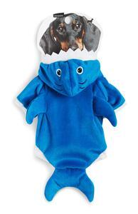 Blaues Hai-Outfit für Haustiere